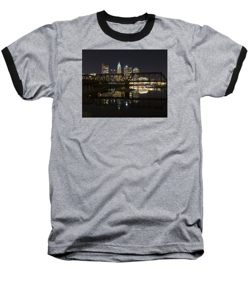 Columbus Skyline Baseball T-Shirt