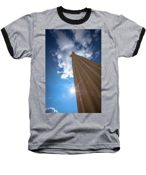 Column To Sky Baseball T-Shirt
