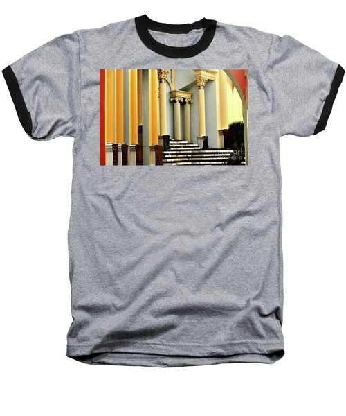Columns At Plaza De Italia Baseball T-Shirt