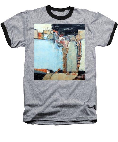 Columns Baseball T-Shirt by Ron Stephens