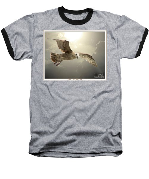 Come Fly With Me Baseball T-Shirt by Mariarosa Rockefeller