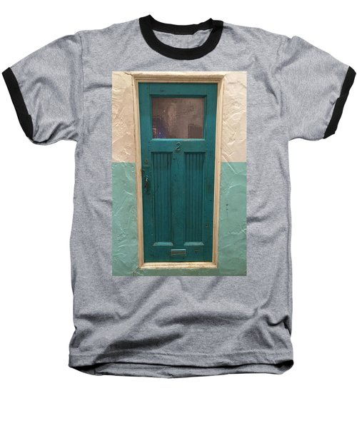 Come In And Chat Baseball T-Shirt by Peggy Stokes