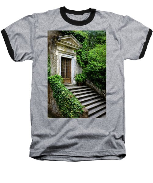 Baseball T-Shirt featuring the photograph Come On Up To The House by Marco Oliveira