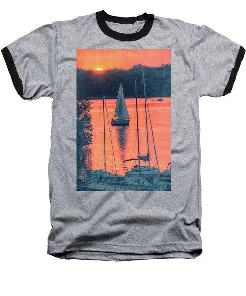 Come Sail Away Baseball T-Shirt by Pamela Williams
