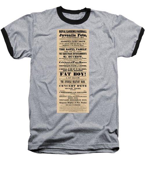 Come See The Fat Boy Baseball T-Shirt
