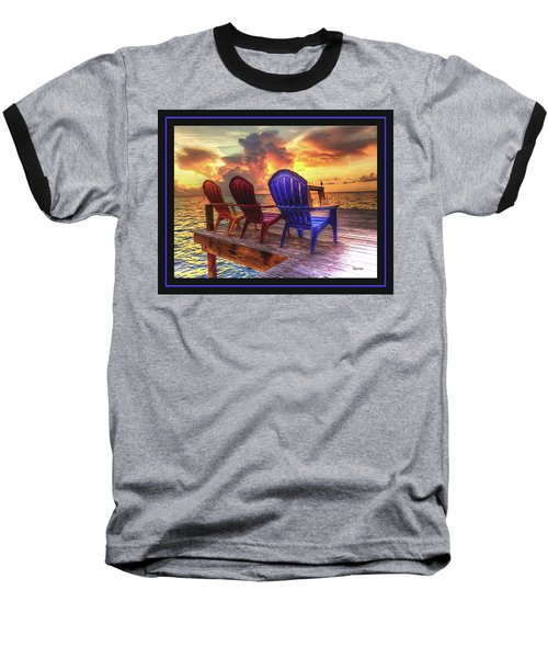 Baseball T-Shirt featuring the photograph Come Sit A While by Steven Lebron Langston