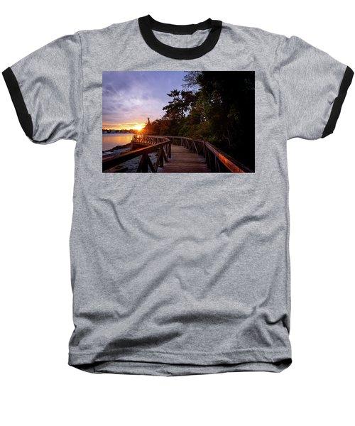 Come Walk With Me Baseball T-Shirt