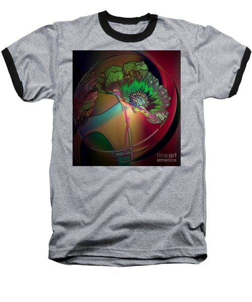 Comely Cosmos Baseball T-Shirt by Irma BACKELANT GALLERIES
