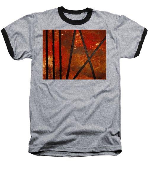 Coming Apart Baseball T-Shirt