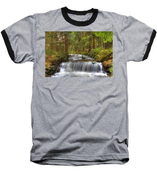 Coming Around The Bend Baseball T-Shirt