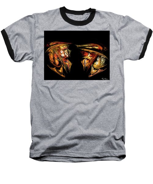 Coming Face To Face Baseball T-Shirt
