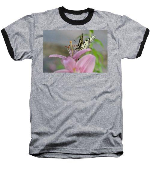 Coming In Baseball T-Shirt by Janet Rockburn