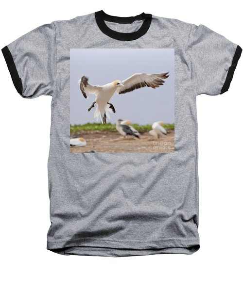 Baseball T-Shirt featuring the photograph Coming In To Land by Werner Padarin