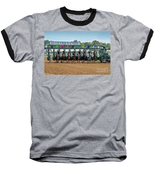Coming Out Of The Gate Baseball T-Shirt