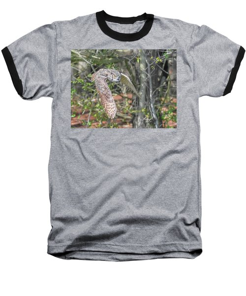 Coming Out Of The Woods Baseball T-Shirt