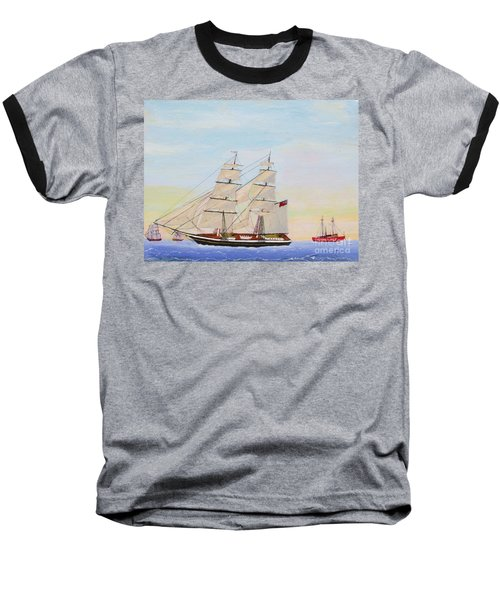 Coming To America - 1872 Baseball T-Shirt by Bill Hubbard