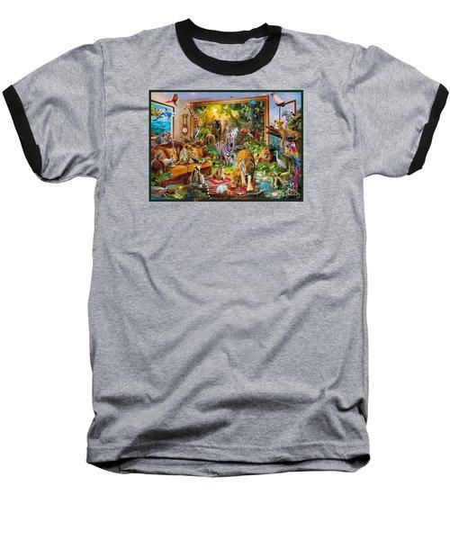 Coming To Room Baseball T-Shirt