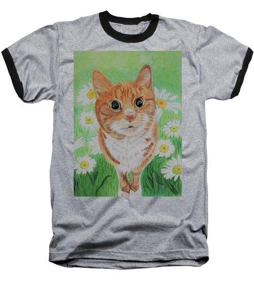 Coming Up Daisies Baseball T-Shirt