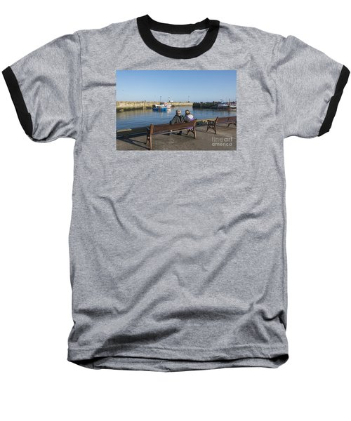 Comings And Goings Baseball T-Shirt by David  Hollingworth