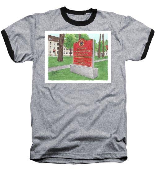 Commander Major General Russell A. Sanborn - Marforeuraf Baseball T-Shirt