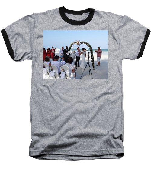 Commitment On The Beach In Kenya Baseball T-Shirt