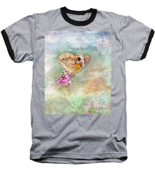 Common Buckeye Baseball T-Shirt by Betty LaRue