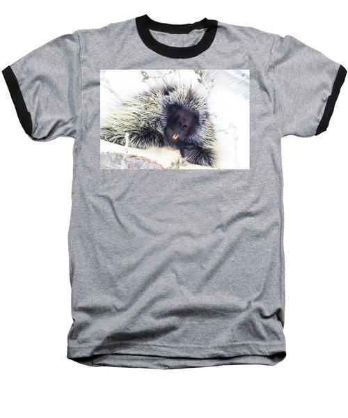Common Porcupine Baseball T-Shirt