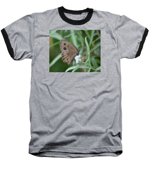 Common Wood Nymph Baseball T-Shirt