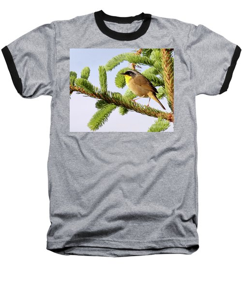 Baseball T-Shirt featuring the photograph Common Yellow-throat by Debbie Stahre
