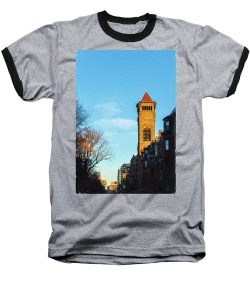 Commonwealth Avenue In Boston Baseball T-Shirt