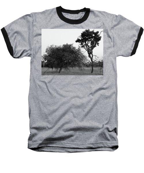 Communion Baseball T-Shirt by Beto Machado