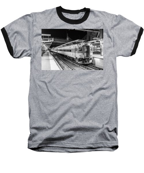 Commuter Rail Baseball T-Shirt