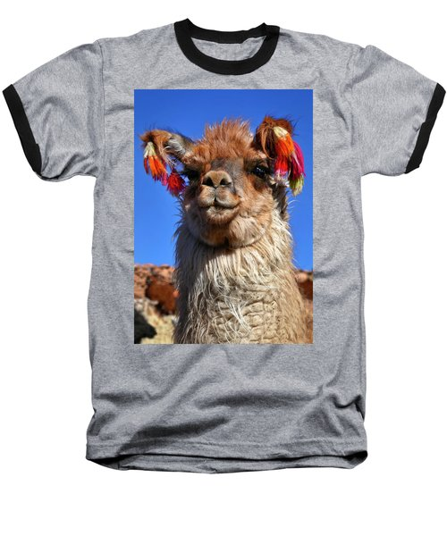 Baseball T-Shirt featuring the photograph Como Se Llama by Skip Hunt