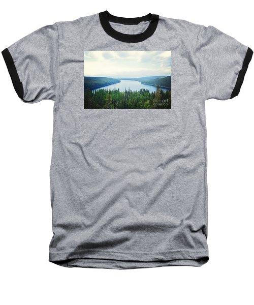 Baseball T-Shirt featuring the photograph Companionship- Holland Lake by Janie Johnson