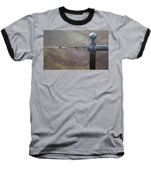 Comparative Engineering Baseball T-Shirt by Laurie Stewart