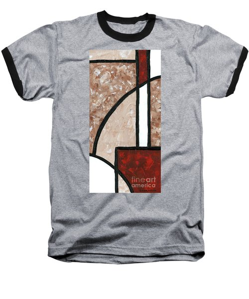Compartments 3 Baseball T-Shirt