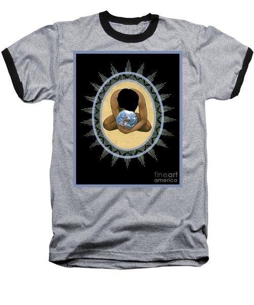 Compassion Mandala - Rlcmm Baseball T-Shirt