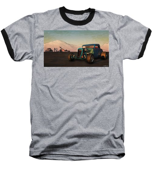 Competition Coupe 33 Baseball T-Shirt by Ken Morris