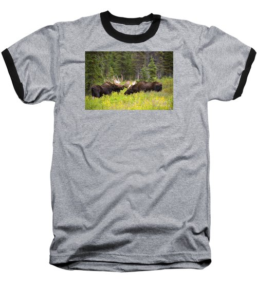 Baseball T-Shirt featuring the photograph The Competition  by Aaron Whittemore