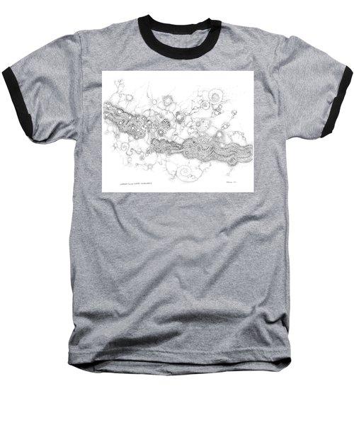 Complex Fluid  Baseball T-Shirt