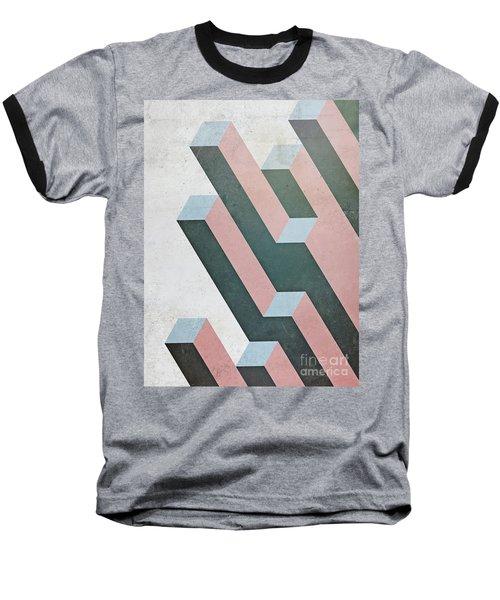 Complex Geometry Baseball T-Shirt