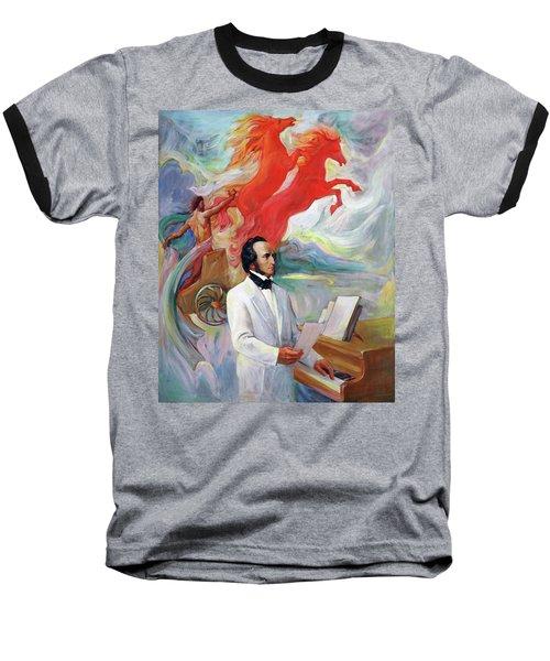 Composer Felix Mendelssohn Baseball T-Shirt