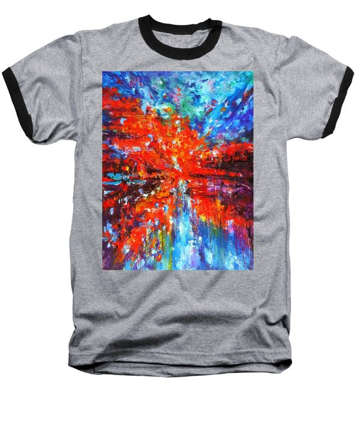 Composition # 2. Series Abstract Sunsets Baseball T-Shirt