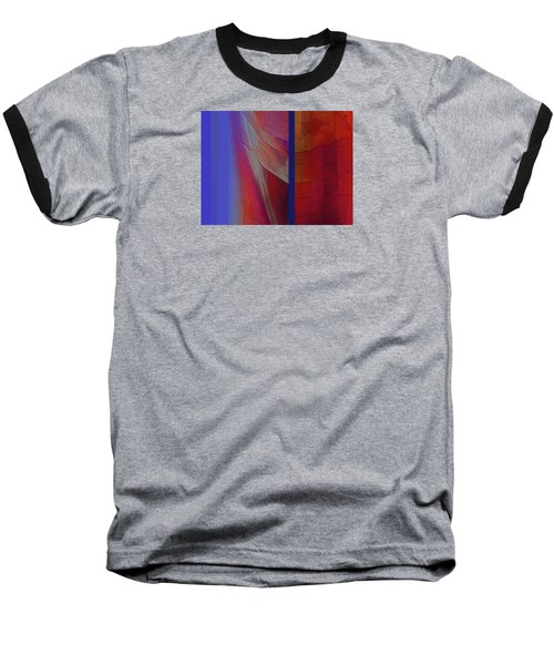Baseball T-Shirt featuring the digital art Composition 0310 by Walter Fahmy