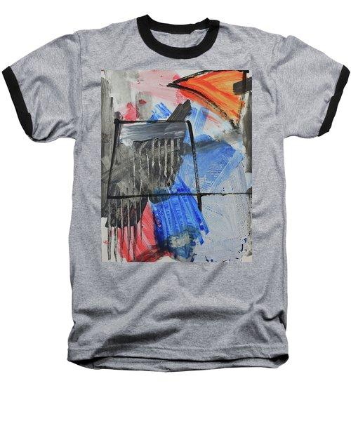 Composition 20188 Diptych Left Panel Baseball T-Shirt