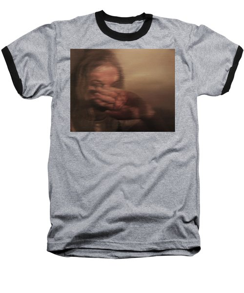 Baseball T-Shirt featuring the painting Concealed by Cherise Foster