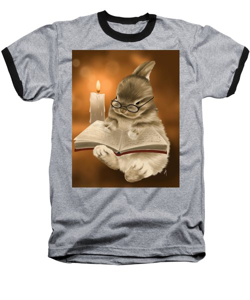 Baseball T-Shirt featuring the painting Concentration  by Veronica Minozzi