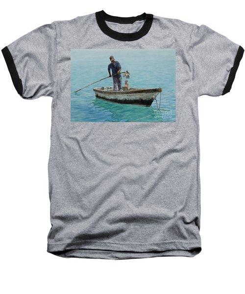 Conch Pearl Baseball T-Shirt