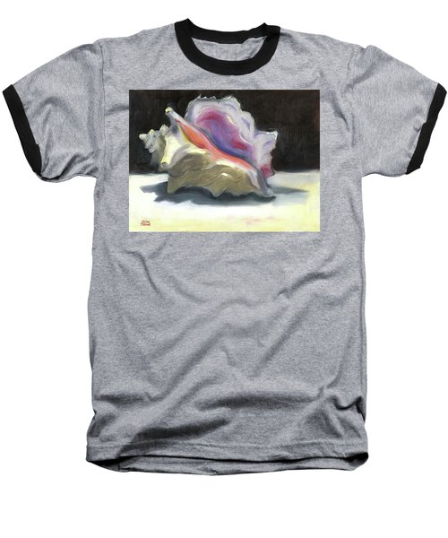 Conch Shell Baseball T-Shirt