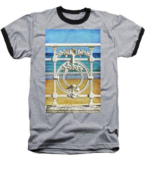 Concha Bay Railing In San Sebastian Baseball T-Shirt